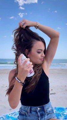 Pantene Sulfate-free Never Tell Dry Shampoo Spray With Wild Mint & Melon - 4.2oz : Target Waterless Shampoo, Using Dry Shampoo, Healthy Style, Oily Hair, Free Hair, Blow Dry, Hair Day, Hair Type, Target