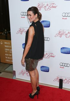 Cote at the 22nd Hall of Fame Induction Gala 3/11/13