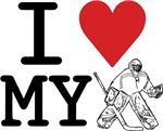 I Love My Goalie! T-Shirts for kids and adults!
