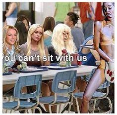Miley Cyrus VMA meets Mean Girls