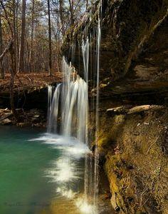 Long Creek near Clarksville, Arkansas Clarksville Arkansas, Arkansas Usa, Oh The Places You'll Go, Places To Visit, Arkansas Waterfalls, Beautiful Waterfalls, Places Of Interest, Weekender, Vacation Spots