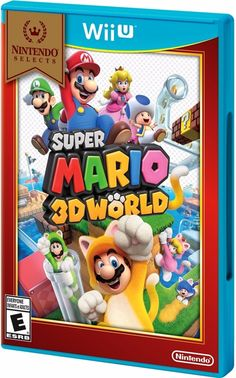 """%100 BRAND NEW AND FACTORY SEALED. FAST STANDARD SHIPPINGAFFORDABLE EXPEDITED SHIPPING AVAILABLE.SHIPS IN 1 BUSINESS DAY FROM CALIFORNIA BY A """"US SELL... #nintendo #selects #brand #world #mario #super"""