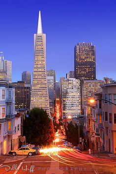 Good Evening, San Francisco by Della Huff Photography, via Flickr