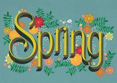 Spring on Behance by Martina Flor