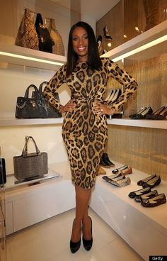 Jennifer Hudson: Fashion's Night Out in Tokyo!: Photo Jennifer Hudson puts her hands on her hips in a form-fitting leopard print dress by Michael Kors during Fashion's Night Out in Tokyo, Japan on Saturday (November… Michael Kors Style, Michael Kors Fashion, Animal Print Outfits, Animal Print Fashion, Fashion Prints, Animal Prints, Fashion Night, Love Fashion, Autumn Fashion