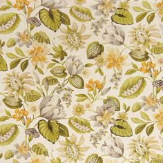The G1180 Gold Bluff upholstery fabric by KOVI Fabrics features Floral, Tropical pattern and Green as its colors. It is a Linen, Print type of upholstery fabric and it is made of 55% Linen, 45% Rayon material. It is rated Exceeds 12,000 double rubs (heavy duty) which makes this upholstery fabric ideal for residential, commercial and hospitality upholstery projects.For help please call 800-860-3105.