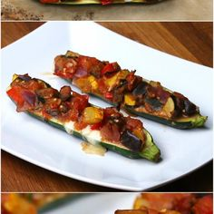 This Ratatouille Zucchini Boat Is Just What Your Belly Ordered