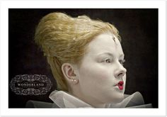 elizabethan makeup and hair idea  J.Broomhall makeup artist & body art