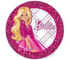 Amazon.com: Barbie Doll Edible Cupcake Toppers Decoration: Everything Else