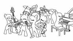 MLP Hug Base | mlp Band base 1 year ago in Drawings