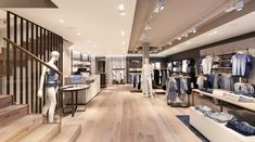 Mey lingerie store by Konrad Knoblauch, Constance – Germany Shop Interior Design, Retail Design, Design Blog, Layout Design, Lingerie Store Design, Underwear Store, Retail Shop, Lounge Areas, Stores