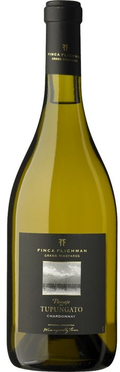 """Paisaje de Tupungato"" Chardonnay 2012 - Bodega Finca Flichman, Mendoza---------  Terroir: Cordón del Plata (Tupungato)----------------------------- Crianza: en barricas de 1er uso (50%) y 2do uso (50%) durante 12 meses"