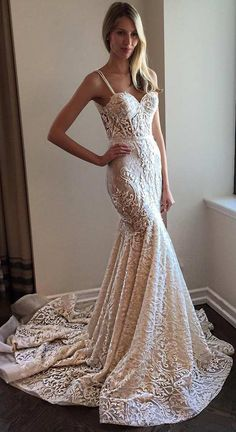 Trendy Mermaid Wedding Dress