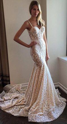 Trendy Mermaid Wedding Dress