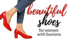 Beautiful Shoes for Women with Bunions - Calla Shoes - Video about stylish shoes for women with bunions - Coupon Code for 20% discount on order Stylish Shoes For Women, Orange Boots, Green Sandals, Bunion, Classic Style, My Style, Red Pumps, Colorful Shoes, Shopping Hacks