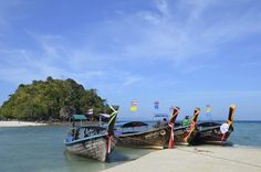 Thailand/Krabi Travel Pics, Travel Pictures, Krabi, Thailand, Boat, World, Heavens, Life, Travel Photos