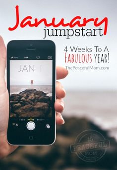 Feel motivated to live better this year? Join myJanuary Jumpstart for tips, tools and strategies to make this your best year yet! -- from ThePeacefulMom.com