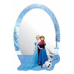 Jégvarázs tükör Adele, Full Length Mirror Wall, Wall Mounted Mirror, Tumblr Wallpaper, Acrylic Material, Disney Frozen, Elsa, Kids Room, Picture Frames