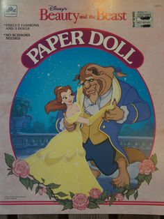 Disney's Beauty and the Beast Paper Doll 1991
