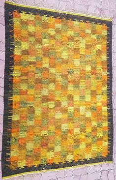 Kup teraz na allegro.pl za 399.00 zł - Kilim lata 60 220x160 cm (7709756130). Allegro.pl - Radość zakupów i bezpieczeństwo dzięki Programowi Ochrony Kupujących! Kilims, Weaving, Rugs, Decor, Wall Blankets, Farmhouse Rugs, Decoration, Loom Weaving, Crocheting