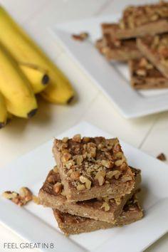 3-Ingredient-Peanut-Butter-Banana-Bars from @feelgreatin8