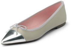 Pin for Later: 10 Paar Schuhe, die jede Frau besitzen sollte Eine Ballerina oder einen Slipper