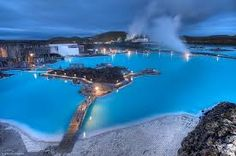 blue lagoon hot springs in iceland Northern Lights Holidays, Northern Lights Iceland, Iceland Road Trip, Iceland Travel, Reykjavik Iceland, Iceland Adventures, Blue Lagoon, Hot Springs, Cool Places To Visit