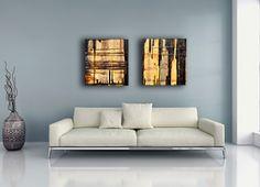 canvas art, wall art, moder, contemporary, art, diptych, prints, abstract