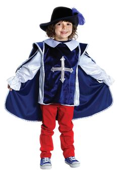 Musketeer Costume With Hat - not a pattern, but something to attempt to DIY for Mad