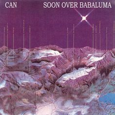 "Hands down the coolest album cover I've seen in a while, Can's ""Soon over Babaluma."" Uncredited. Great album name as well."