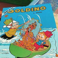 Ritorno all'infanzia #soldino #nonnaabelarda #fumetti #anni80 #lire #tiramolla #geppo #provolino