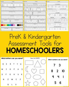 Homeschoolers looking for parent-friendly assessment tools for PreK and Kindergarten, this is for you! Getting ready for Kindergarten at Home with assessments, lists, ideas, and more. #1plus1plus1 #kindergarten #homeschool #PreK Kindergarten Assessment, Preschool At Home, Try It Free, Learn To Read, Early Learning, Classroom Organization, Social Studies, Homeschooling, Christ