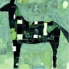 Rodney Hatfield | Caballo Verde | Oil on Canvas
