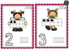 Bonitas tarjetas de números del 0 al 10 - Imagenes Educativas Kids Learning, Comics, Preschool Math Activities, Montessori Activities, Comic Books, Comic Book, Comic, Cartoons, Comic Art