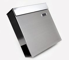 The Vertical Lockable Mailboxes Brushed Stainless Steel With Newspaper Holder Modern Urban Style - QUALITY IS TOP, ANTI-RUST, STURDY AS REVIEWS FROM CLIENT amoylimai http://www.amazon.com/dp/B00G05RCQO/ref=cm_sw_r_pi_dp_m9asvb1N6Z5YG