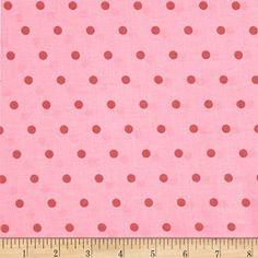 Lulu Roses Lola Pink Fabric