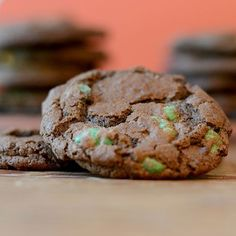 Chocolate Cookie with Mint Chips from Feed Your Soul Too