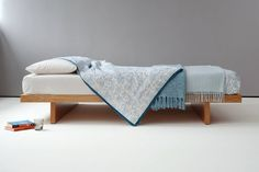 Kyoto   Japanese Style Bed   Solid Wood Low Bed   Natural Bed Company - £555.00