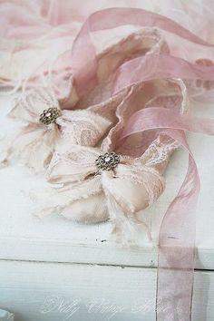 Slippers...delicately feminine