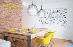 'Aspen Industrial' in MD+ magazine, interior design by:http://www.widawscy.pl