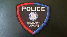 Colorado Department of Military Affairs Police Patch (Current Issue)