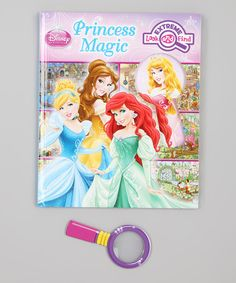 Take a look at this Extreme Look and Find: Princess Magic Hardcover by Disney on #zulily today!