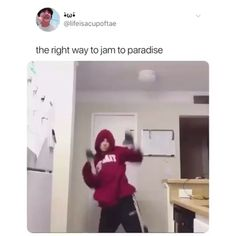 Paradise is an underrated bop Momo Video, Kpop Memes, Funny Memes, Taekook, Bts Funny Videos, Bts Tweet, Think, Bts Video, Bts Edits