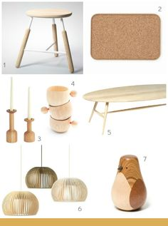Pretty Wooden Accessories