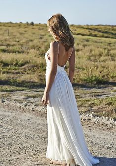 $149 - chiffon Beach wedding dress - Babyonlinedress.com