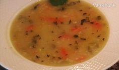 Polievka zo stonkového zeleru, mrkvy a ovsených vločiek (fotorecept) - Recept
