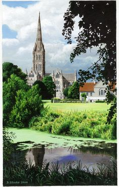 Salisbury Cathedral by NewAgeTraveller
