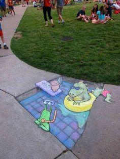 Chalk Street Drawing