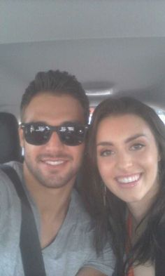 Ryan Guzman and Katherine McCormick