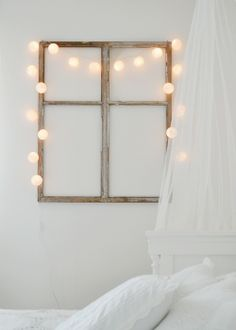 // fake window and lights //